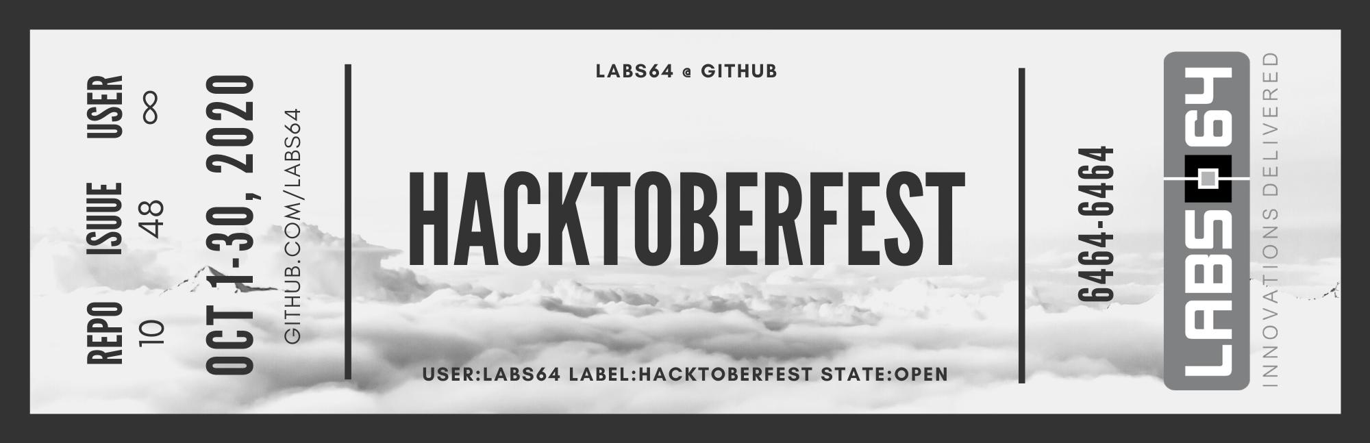 Hacktoberfest @ Labs64