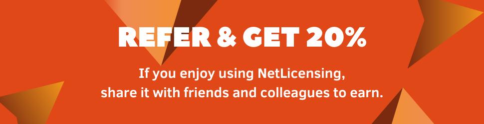 NetLicensing Affiliates Banner