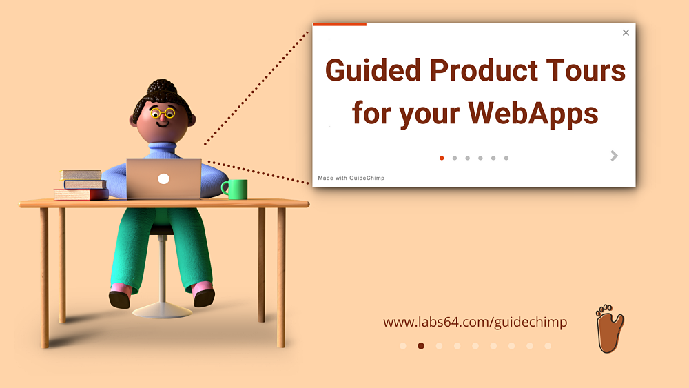 Onboard users using interactive Product Tours with GuideChimp