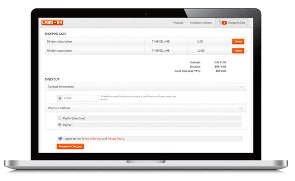 Acquire licenses via NetLicensing Shop